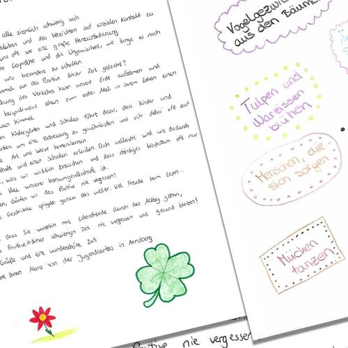 Menschen brief netten an einen Ein Brief